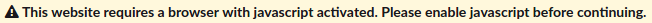 This website requires a browser with javascript activated. Please enable javascript before continuing.